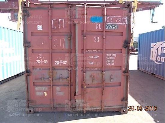 Изображение 20-футовый б/у контейнер №0197917