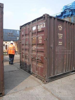 Изображение 20-футовый б/у контейнер №0610656
