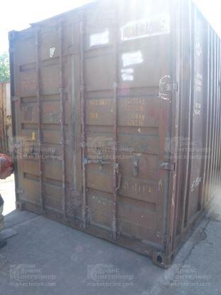 Изображение 20-футовый б/у контейнер №0612345