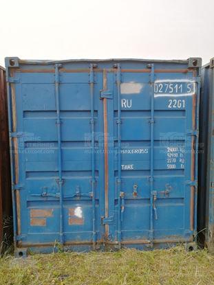 Изображение 20-футовый б/у контейнер №0275115