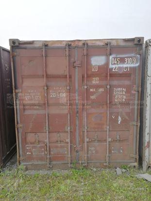 Изображение 20-футовый б/у контейнер №0453109