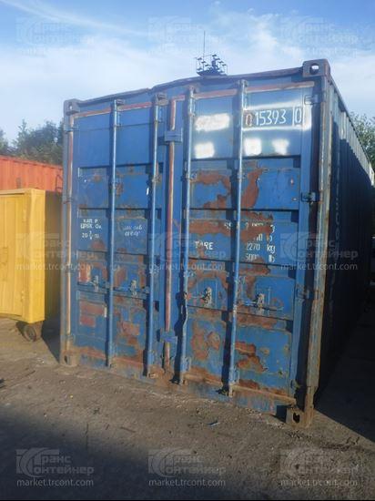 Изображение 20-футовый б/у контейнер №0153930