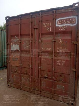 Изображение 20-футовый б/у контейнер №0455668