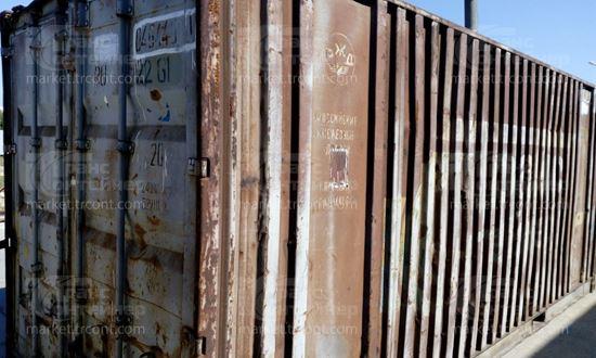 Изображение 20-футовый б/у контейнер №0464401