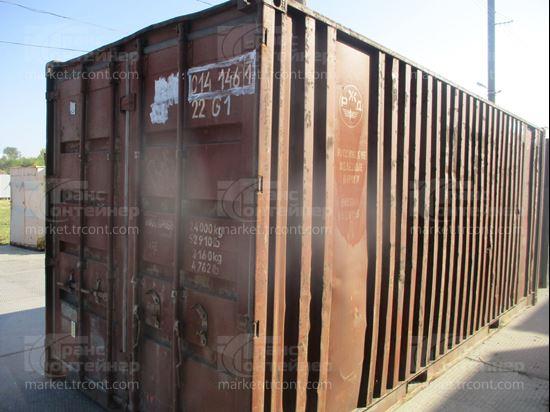 Изображение 20-футовый б/у контейнер №0141461
