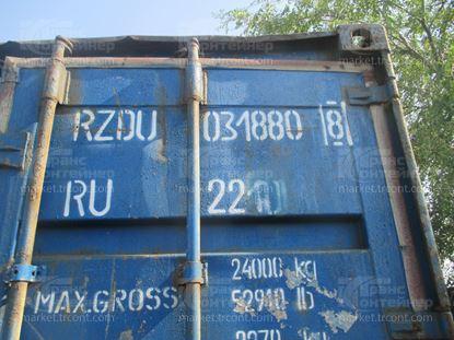 Изображение 20-футовый б/у контейнер №0318808