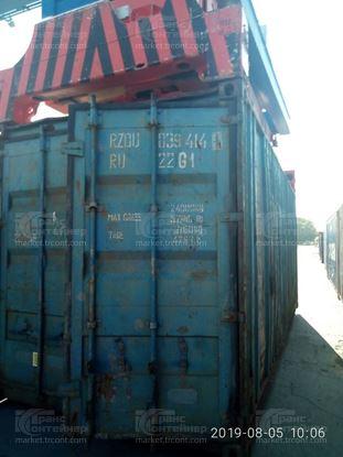 Изображение 20-футовый б/у контейнер №0394140