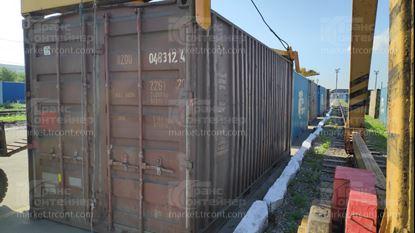 Изображение 20-футовый б/у контейнер №0483124