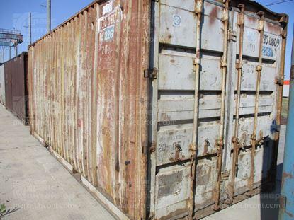 Изображение 20-футовый б/у контейнер №0300809