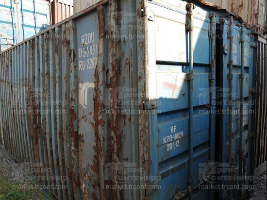 Изображение 20-футовый б/у контейнер №0568514