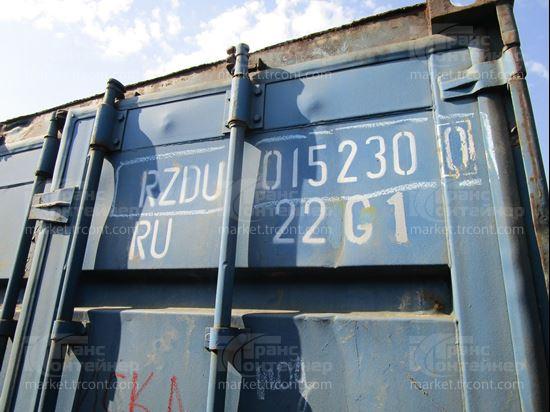 Изображение 20-футовый б/у контейнер №0152300