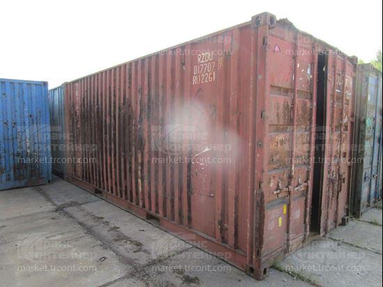 Изображение 20-футовый б/у контейнер №0177079