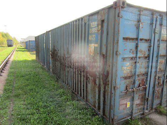 Изображение 20-футовый б/у контейнер №0199592