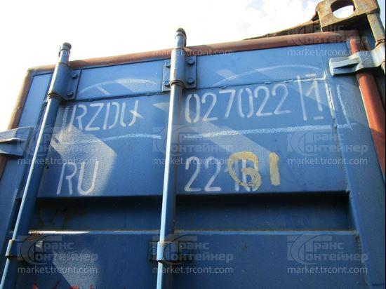 Изображение 20-футовый б/у контейнер №0270221