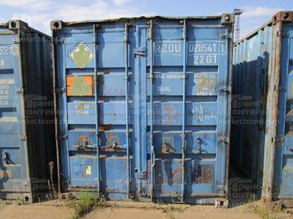 Изображение 20-футовый б/у контейнер №0285411