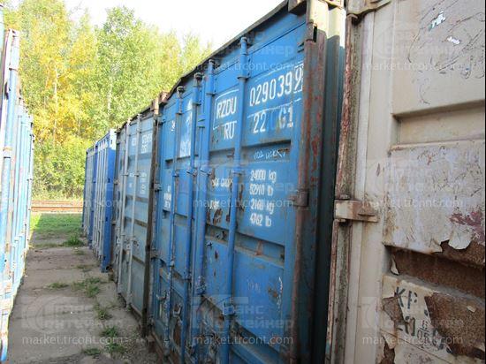Изображение 20-футовый б/у контейнер №0290399
