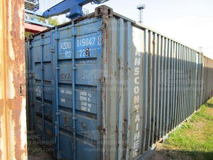 Изображение 20-футовый б/у контейнер №0190471