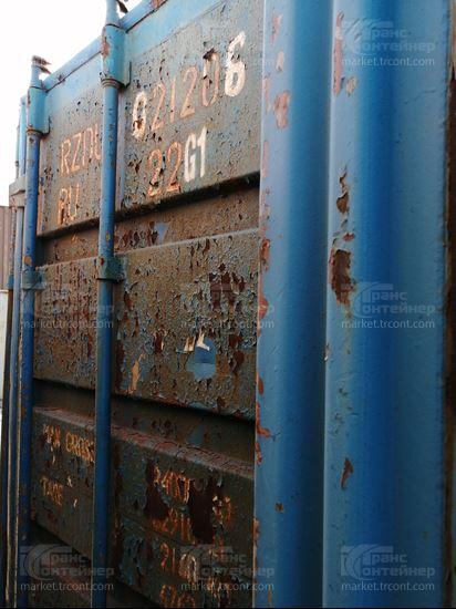Изображение 20-футовый б/у контейнер №0212061