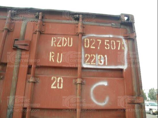 Изображение 20-футовый б/у контейнер №0275075
