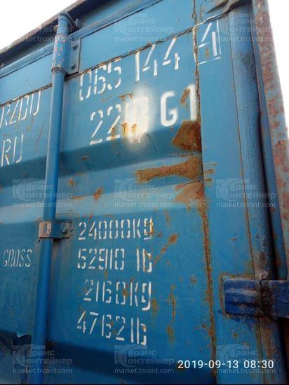 Изображение 20-футовый б/у контейнер №0651444