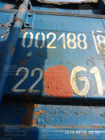 Изображение 20-футовый б/у контейнер №0021888