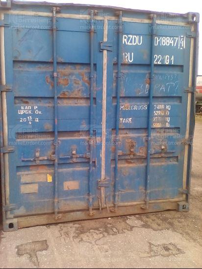 Изображение 20-футовый б/у контейнер №0188474