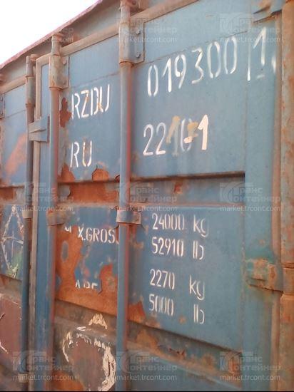 Изображение 20-футовый б/у контейнер №0193001