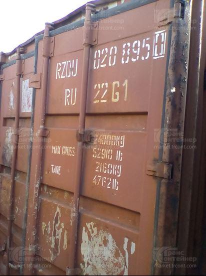Изображение 20-футовый б/у контейнер №0208950