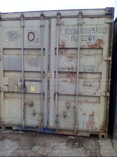 Изображение 20-футовый б/у контейнер №0595783