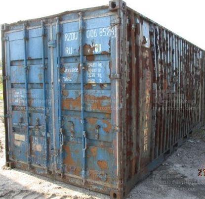 Изображение 20-футовый б/у контейнер №0068524