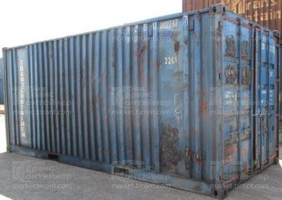 Изображение 20-футовый б/у контейнер №0027377