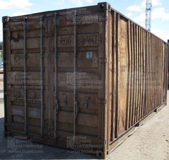 Изображение 20-футовый б/у контейнер №0480423