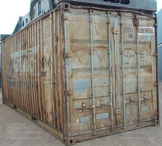Изображение 20-футовый б/у контейнер №0397453