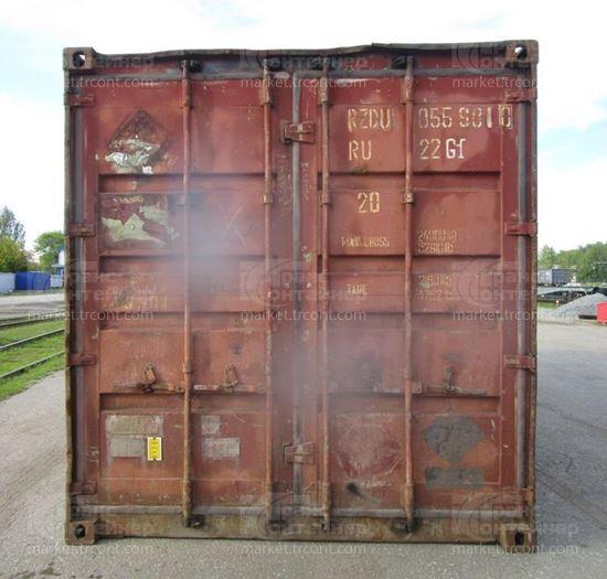 Изображение 20-футовый б/у контейнер №0559810