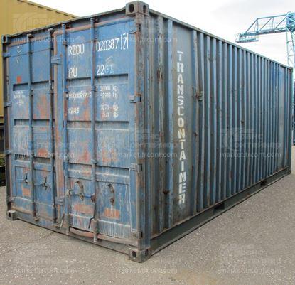 Изображение 20-футовый б/у контейнер №0203877