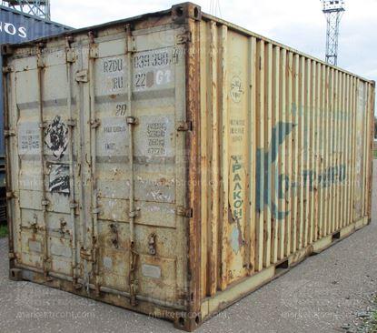 Изображение 20-футовый б/у контейнер №0393904