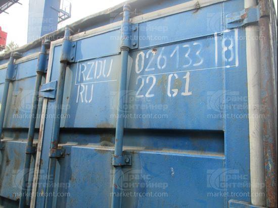 Изображение 20-футовый б/у контейнер №0261338
