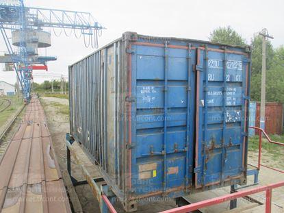 Изображение 20-футовый б/у контейнер №0271629