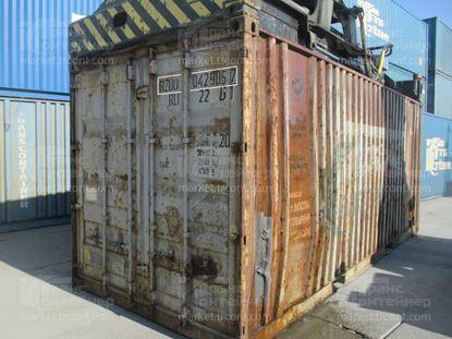 Изображение 20-футовый б/у контейнер №0429057