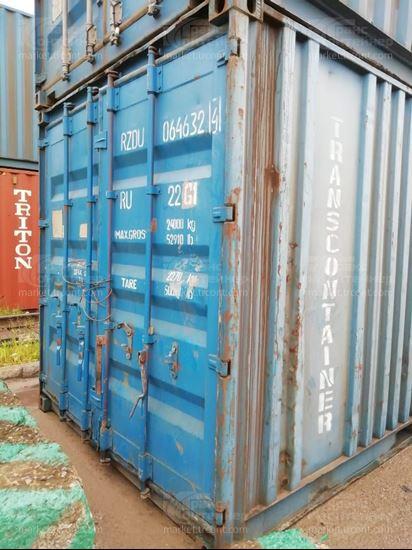 Изображение 20-футовый б/у контейнер №0646324