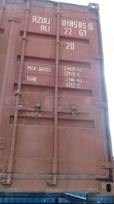 Изображение 20-футовый б/у контейнер №0185855