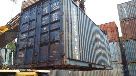 Изображение 20-футовый б/у контейнер №0238657