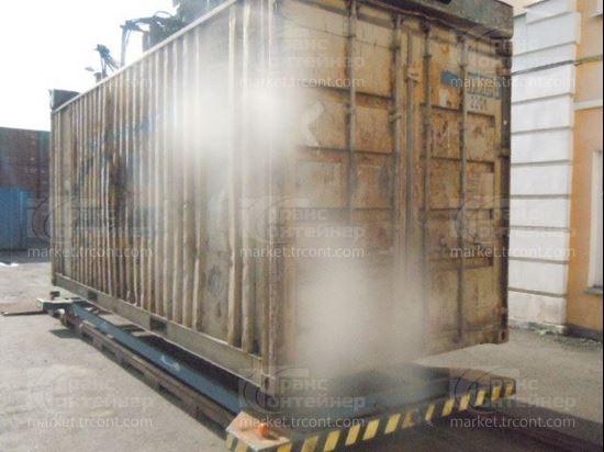 Изображение 20-футовый б/у контейнер №0133764