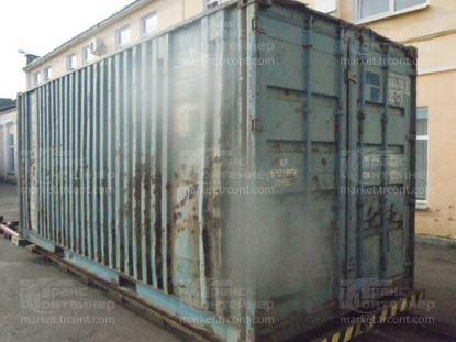 Изображение 20-футовый б/у контейнер №0144748