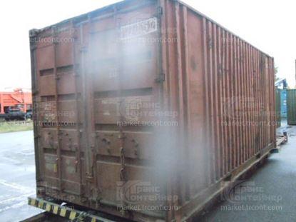 Изображение 20-футовый б/у контейнер №0270052