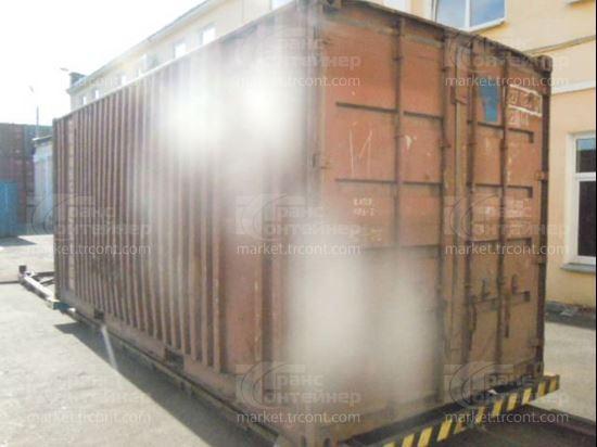 Изображение 20-футовый б/у контейнер №0270263