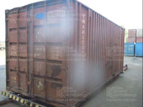 Изображение 20-футовый б/у контейнер №0357297