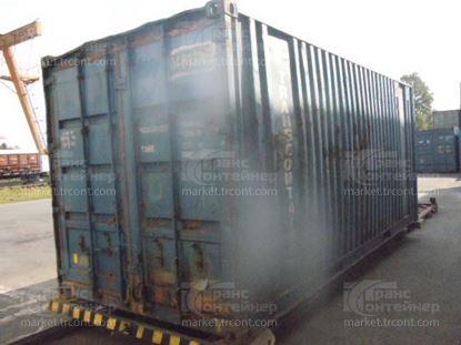 Изображение 20-футовый б/у контейнер №0482236