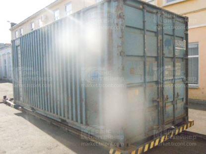 Изображение 20-футовый б/у контейнер №0648498