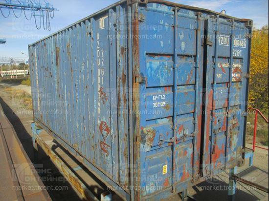 Изображение 20-футовый б/у контейнер №0081486